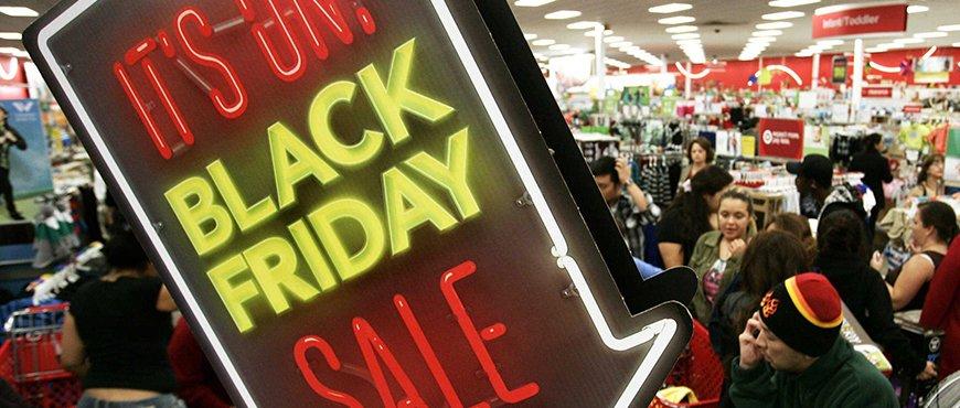 Черная пятница — день распродаж