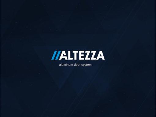 Логотип для компании «ALTEZZA»