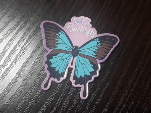 Виниловые магниты для «Butterfly»