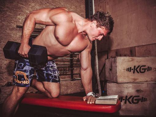 Фотосессия для сети фитнес-центров «KotenGym»