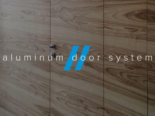 Сайт для производителя алюминиевых дверных систем «Альтезза»