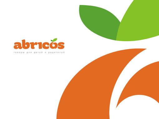 Логотип для интернет-магазина «Абрикос»