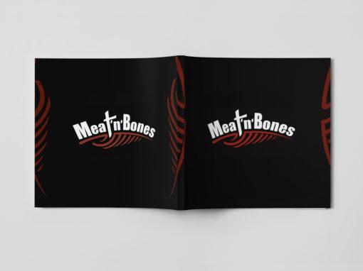 Паспорт логотипа Meat'n'Bones