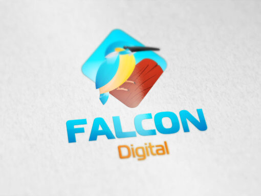 Логотип Falcon Digital